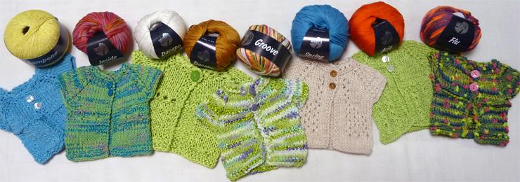 Die neue Sommerwolle für die Saison 2013 ist eingetroffen.